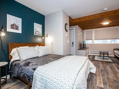 Photo for The Nook at Whitefish Mountain - Studio unit just steps from ski slopes