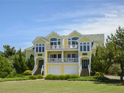 Photo for Shack At The Beach: 5 BR / 5 BA duplex-one side in Corolla, Sleeps 10
