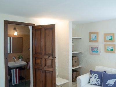 Photo for Sea view studio apartment just 30 meters from the beach