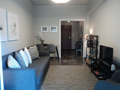 Photo for Urban  apt.  2' walking distance from metro  ( LINE 3)