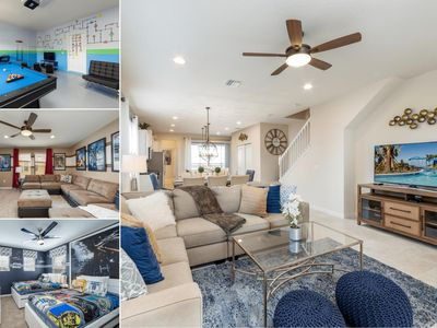 Photo for Westside Triumph | Luxury Pool Villa with Loft and Game Room