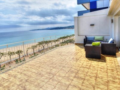 Photo for SPECTACULAR APARTMENT WITH DIRECT SEA VIEWS