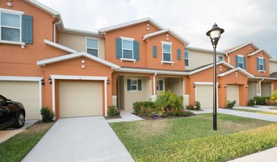 Photo for Luxury Townhouse near Disney w/ WiFi, Complex Pool, Clubhouse & Grill