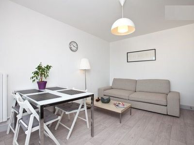 Photo for Sea view 20m from the beach furrow, sleeps 4, Saint-Malo