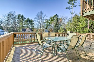Enjoy a relaxing retreat at this cozy home in Naples, Maine!