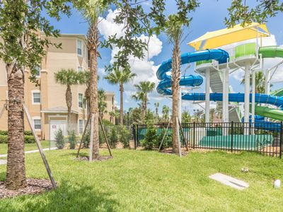 Photo for Stylish 3 bed / 2 bath condo RIGHT NEXT TO THE POOL AND CLUBHOUSE!.