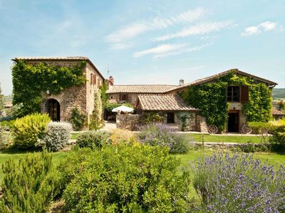 Photo for Villa in Montalcino with 5 bedrooms sleeps 10