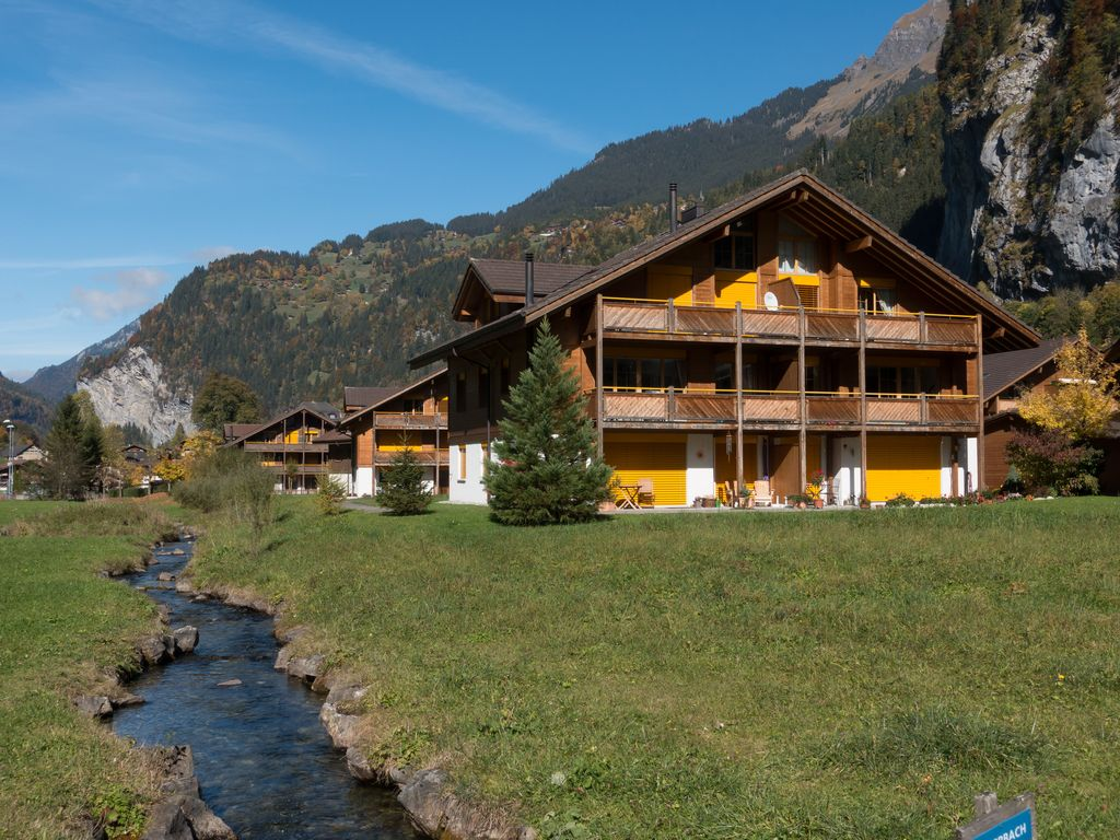 Luxurious appartment in breathtaking Lauterbrunnen