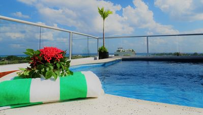 Photo for Mayan Penthouse with Rooftop Pool