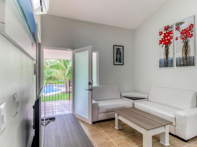 Photo for Family-friendly apartment w/a shared pool, pool spa, gardens, & picnic area