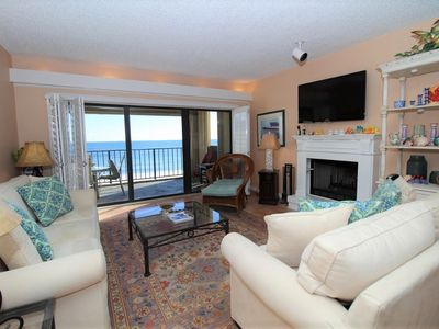 Photo for Shipwatch D604 - Gulf Front Oasis with Private Beachfront Balcony!