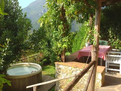 Photo for Very impressive in the heart of the Tuscan hills with jacuzzi!