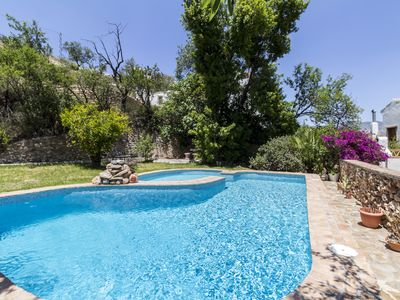 Photo for Lovely Andalusian house with views and private pool