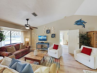 Oyster Creek Waterfront Home w/ Private Dock & Nearby Boat Ramp - Near Beach