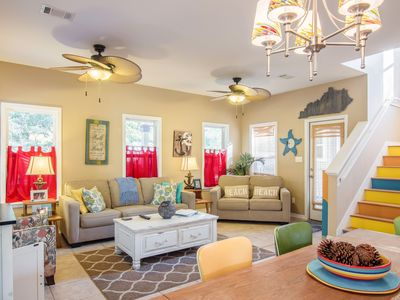Photo for 3BR, 2.5BA Breezy Destin House with Outdoor Living – Near Dining & Beach