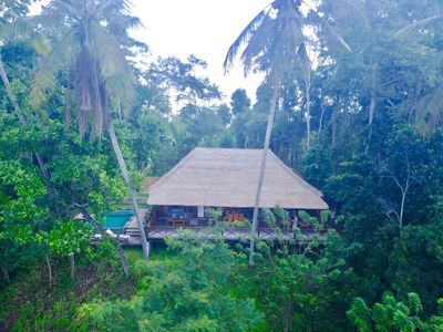 Photo for Jungle hideaway Wooden Villa Kaloi