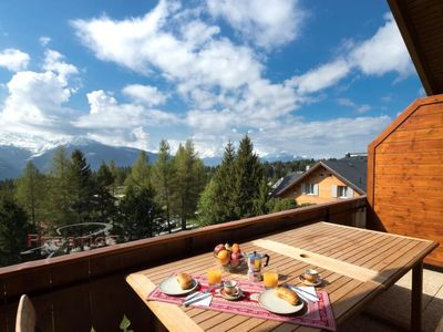 Photo for Apartment Les Pierres C in Crans-Montana - 6 persons, 3 bedrooms
