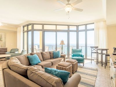 Photo for Gulf Front Condo at Phoenix West II ~ Amazing Views & Great Amenities!