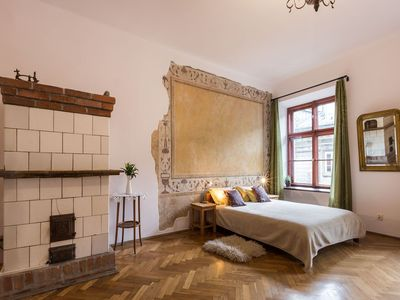 Photo for Sunny studio in the old town, just 50 meters from the main square!