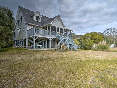 Photo for NEW! Waterfront Murrells Inlet Home w/Pond & Dock!