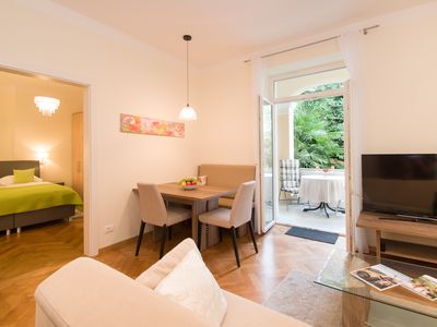 Photo for New, modern apartment, central and very quiet location in Meran / Obermais
