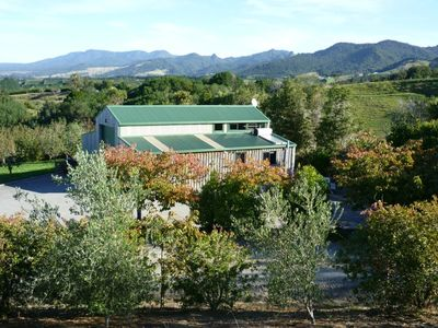 Photo for Stunning country and ocean view of bay of plenty