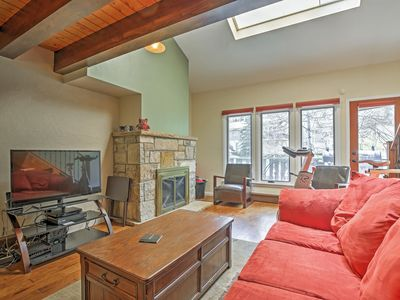 Photo for Charming 2BR + Loft Vail Townhome