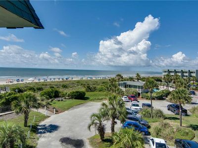 Photo for 3rd Floor Ocean Front Views in the Heart of IOP, Enjoy Easy Beach Access, Fishing Pier and Pool!