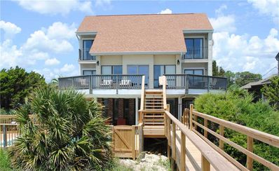 Photo for The Cookie House: 5 BR / 5.5 BA house in Pawleys Island, Sleeps 16