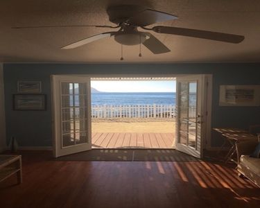 Photo for New Listing! Beautiful air conditioned 4/2 beachfront house near Ko Olina Resort