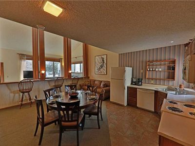 Photo for Relaxing ski-in/ski-out condo with large loft and private indoor hot tub