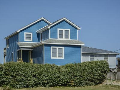 Photo for Whitecaps: Pet friendly, oceanfront with private pool and hot tub and rec room with a pool table.