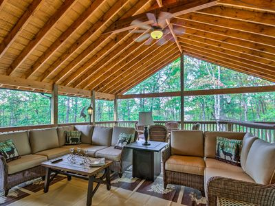 Photo for NEW! Remodeled Sapphire Resort Cabin In Nantahala!