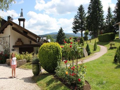 Photo for Tidy chalet with dishwasher, in the High Vosges