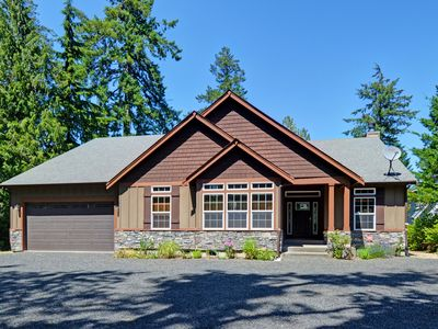 Photo for Elegant, Spacious, Private, Waterfront Hood Canal Home