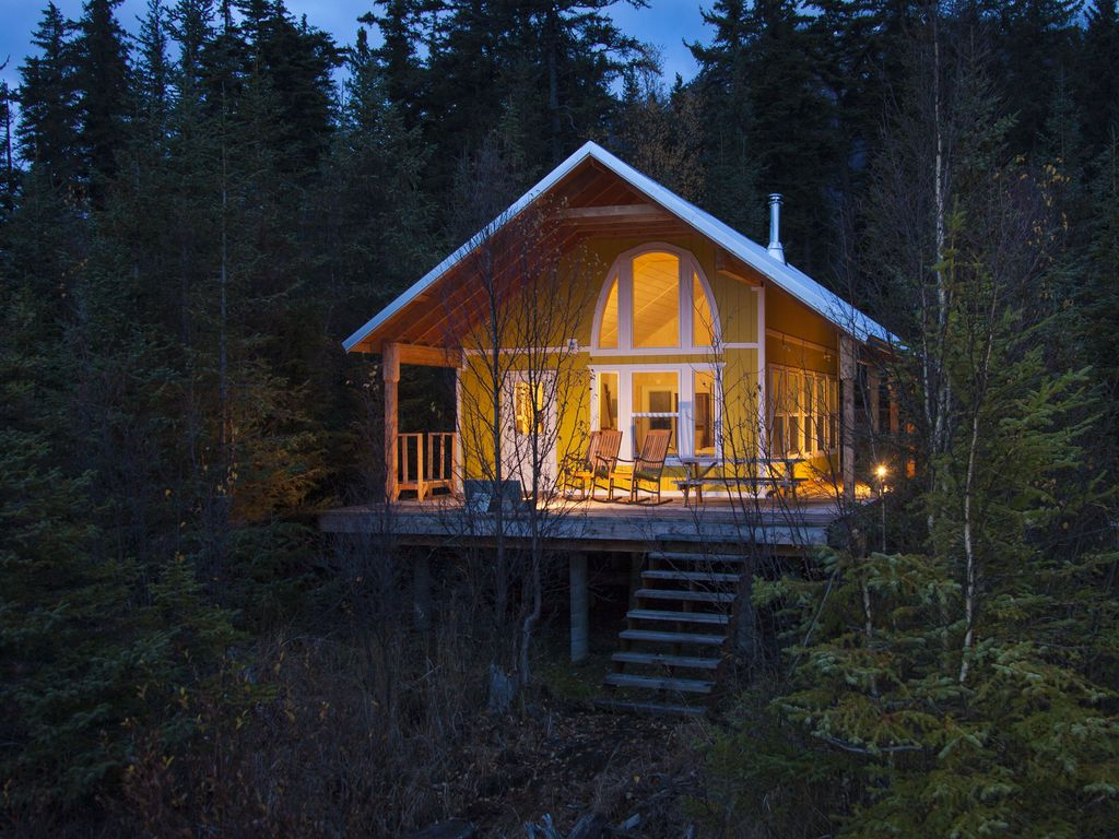 The Yakutat Cabin At Kenai Lake! Alaska Real Simple