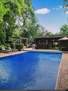 Photo for Hamptons Beauty, fully renovated home with a pool, minutes to ocean and town