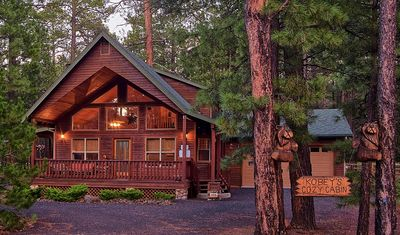 Photo for FULL OF AMENITIES + 3 BEDROOMS + KOBEY'S COZY CABIN + FOR A RELAXING VACATION