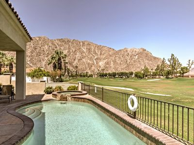 Photo for PGA West Home on Golf Course w/ Pool & Mtn. Views!