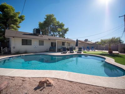 Photo for Scottsdale Serenity | Pool, Fire Pit, Indoor Games!