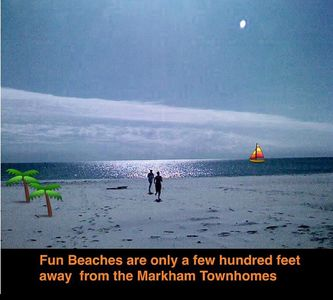 4Br/2Ba Beachview home, beautiful ocean view, sandy beaches, 7 beds (sleeps 13)