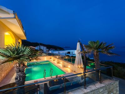 Photo for Beachfront Villa Sea Sound with Pool