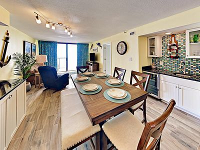 Photo for Oceanfront Penthouse w/ Community Pool & Hot Tub - 1 Mile to Barefoot Landing
