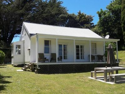 Photo for Comfortable Kiwi bach with privacy and views