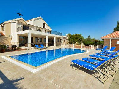Photo for Villa Asklipi Titan - Exquisite Luxury 5 Bedroom Villa with Private Pool - Pool Table