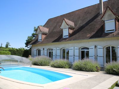 Photo for Holiday Home in Blis et Born, Near  Perigueux, Dordogne - Large Heated Swimming