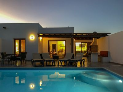 Photo for A Villa With Stunning Views and A Private, Heated Pool & Free FIBRE Wifi