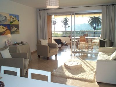 Photo for Lovely 2 bedrooms apartment with air condition in Nice Mont Boron