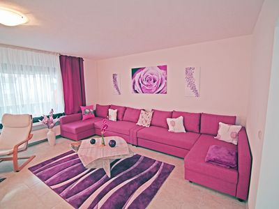 Photo for Komf.  Apartment with garden and 2 balconies for up to 8 people