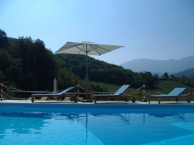 Photo for Farmhouse with pool immersed in a natural setting of the Montefeltro - 1 -